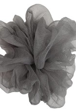 Pink Pewter Luxe Oversized Sheer Scrunchie Ash