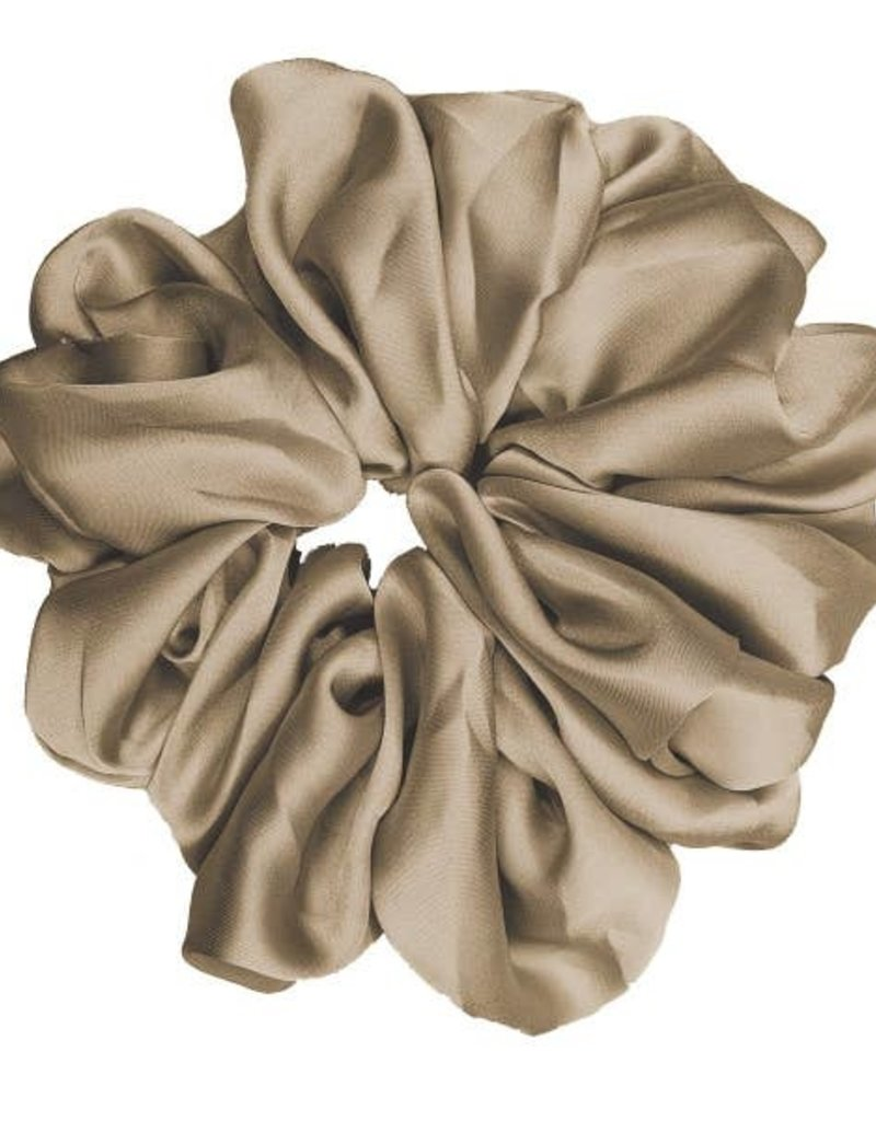 Pink Pewter Luxe Oversized Scrunchie Nutshell