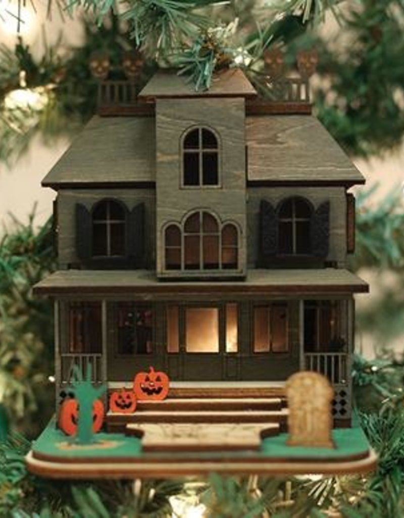 Old World Christmas Haunted Mansion