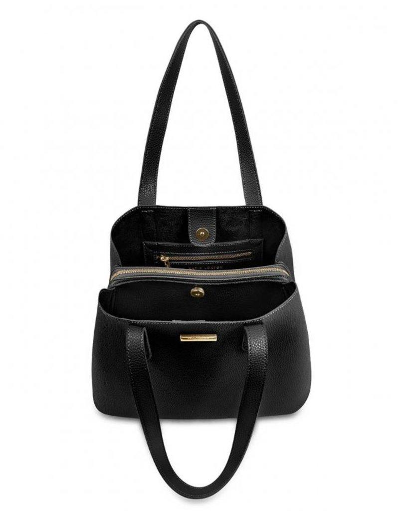 Katie Loxton Riley Shoulder Bag Black