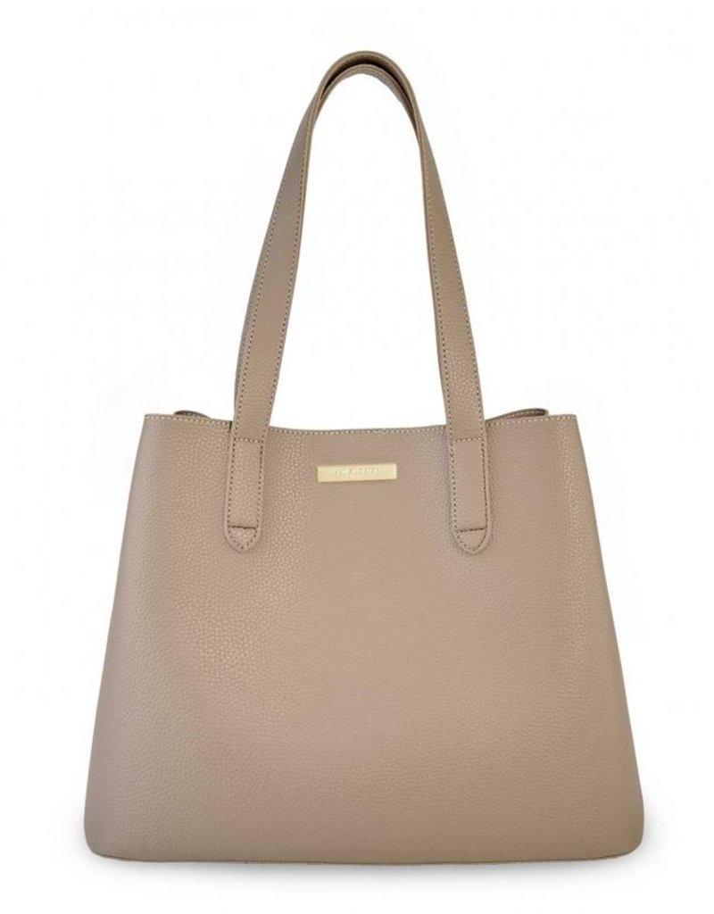Katie Loxton Riley Shoulder Bag Taupe