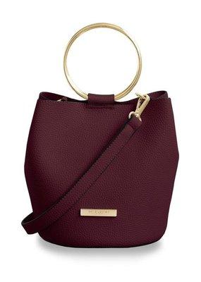 Katie Loxton Suki Bucket Bag Burgundy