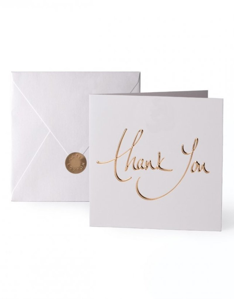 Katie Loxton Greeting Card Thank You
