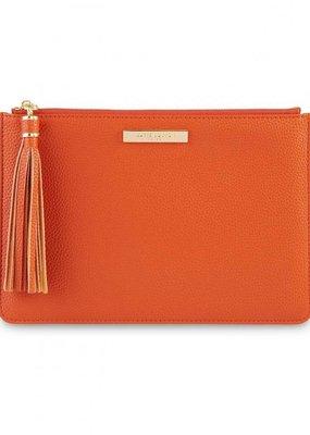 Katie Loxton Tassel Pouch Burnt Orange