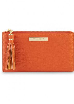 Katie Loxton Tassel Fold Out Wallet Burnt Orange