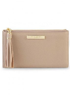 Katie Loxton Tassel Fold Out Wallet Taupe