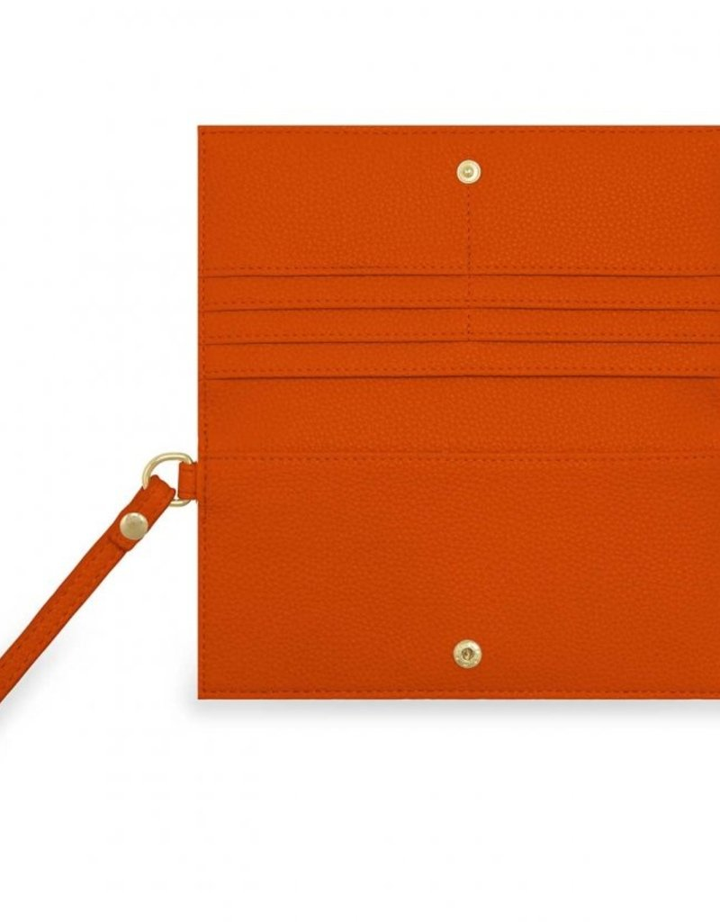 Katie Loxton Cleo Wristlet Burnt Orange