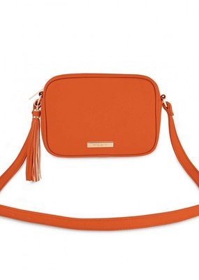 Katie Loxton Sophia Tassel Crossbody Orange