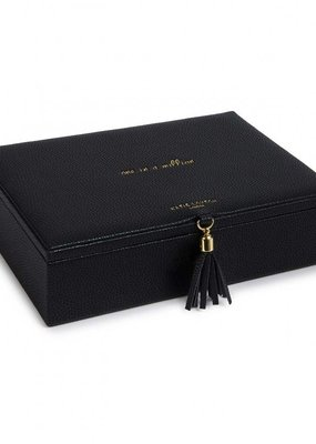 Katie Loxton Tassel Jewelry Box One In A Million Black