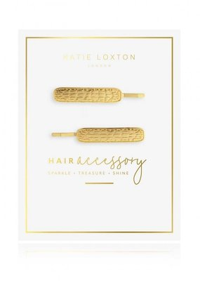 Katie Loxton Croc Embossed Hair Slides