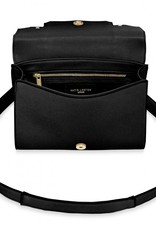 Katie Loxton Mila Multi Way Backpack Crossbody Bag Black
