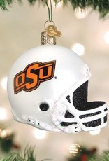 Old World Christmas OK State Helment Ornament