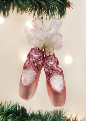 Old World Christmas Pair of Ballet Ornament