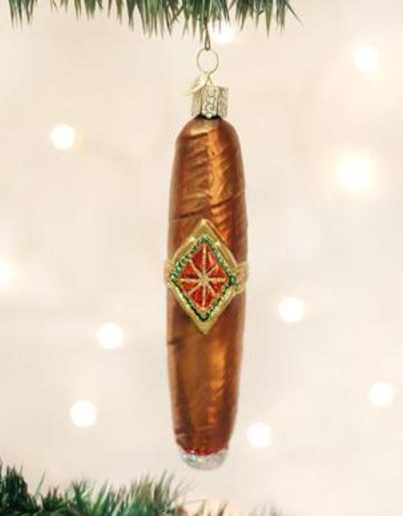 Old World Christmas Cigar Ornament