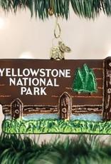 Old World Christmas Yellowstone Park Ornament