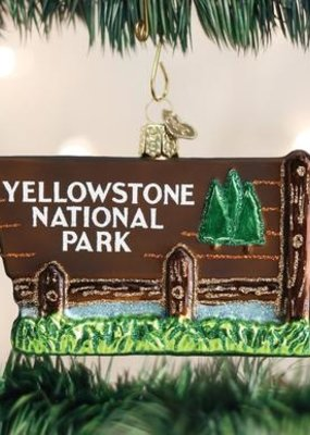 Old World Christmas Yellowstone Park Ornament