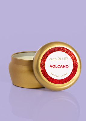 Capri Blue 3oz Glam Mini Tin Volcano