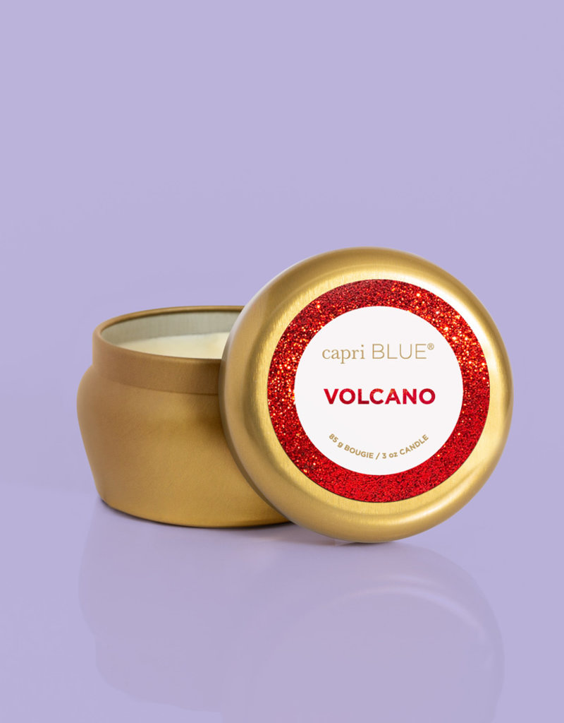 Capri Blue 3oz Glam Mini Tin Volcano