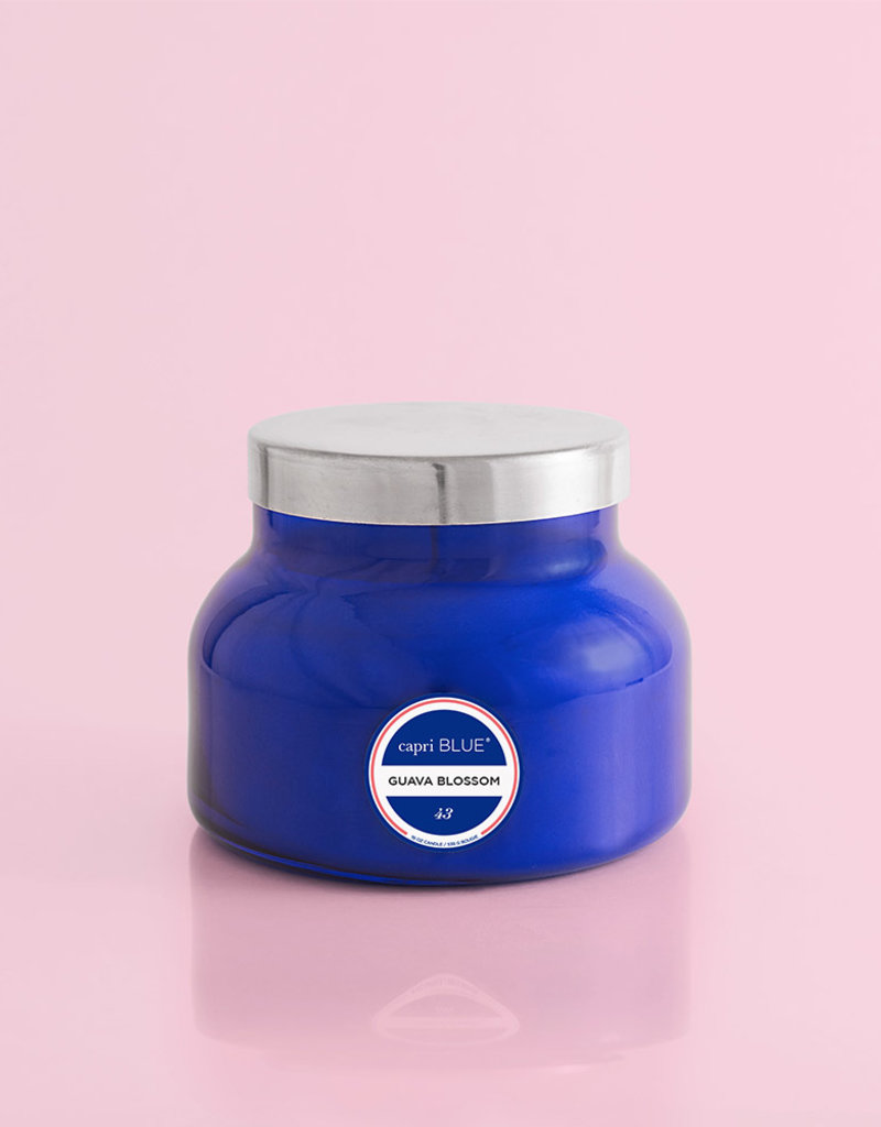 Capri Blue Guava Blossom Blue Signature Jar, 19 oz.