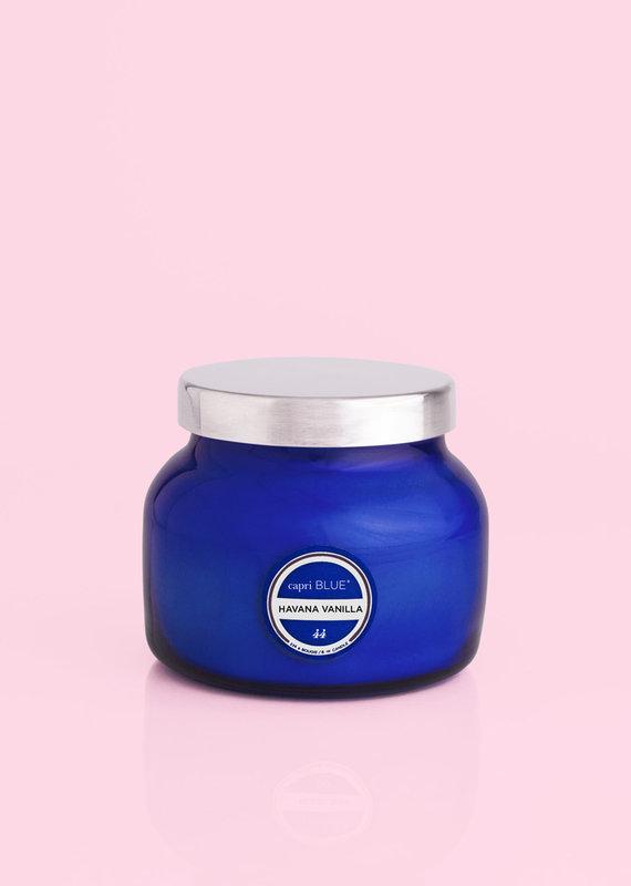 8 oz Blue Petite Jar Havana Vanilla