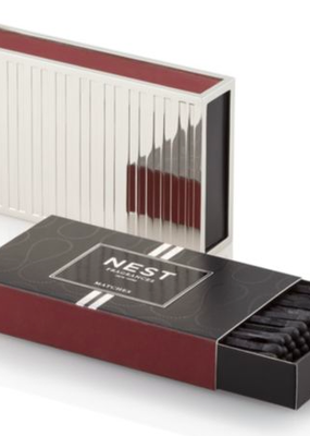 NEST Fragrances Matchbox Holder Silver Collection