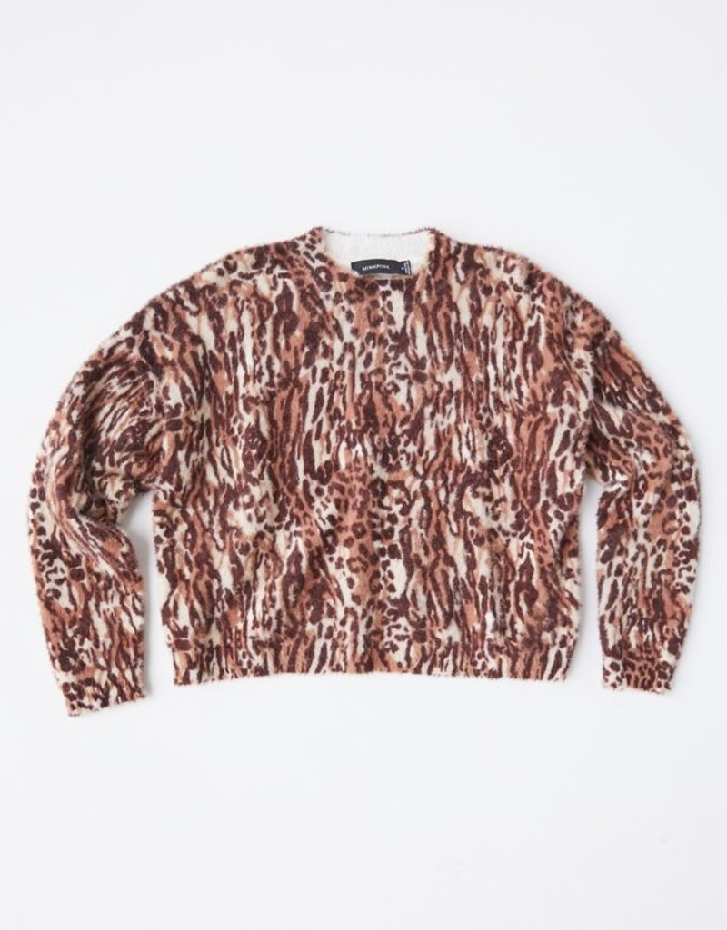 Mink Pink Game On Sweater