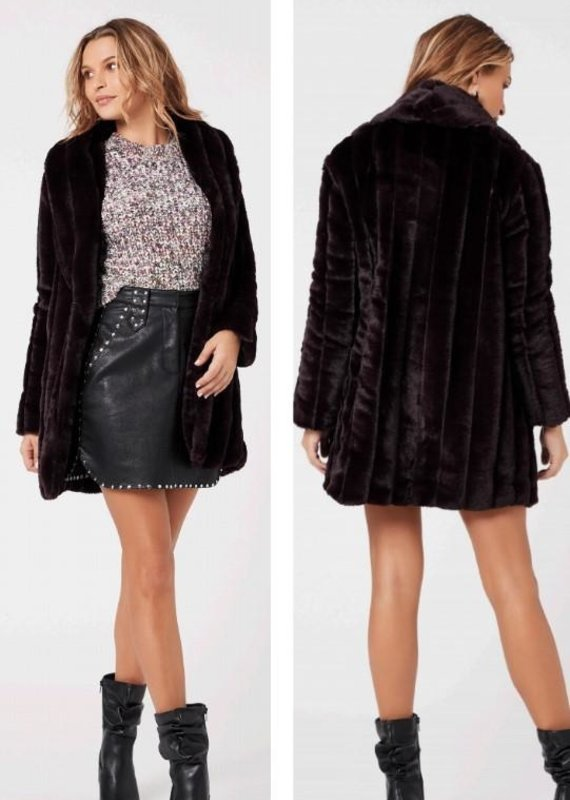 Mink Pink Maryana Faux Jacket
