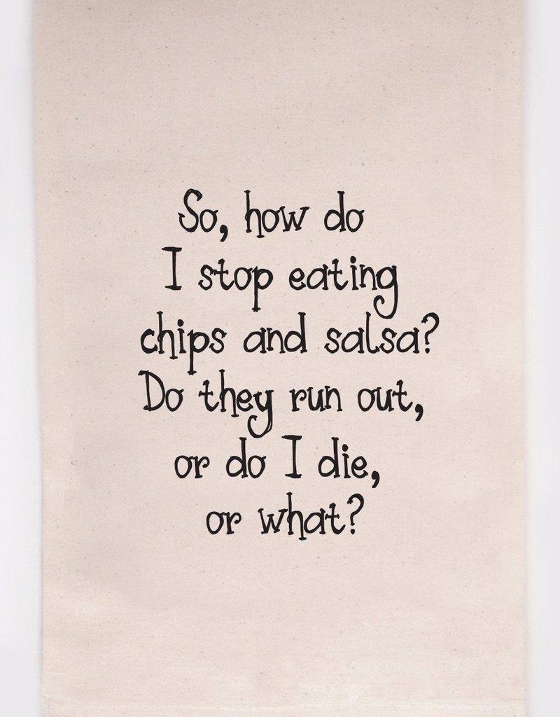 ellembee Chips And Salsa Tea Towel