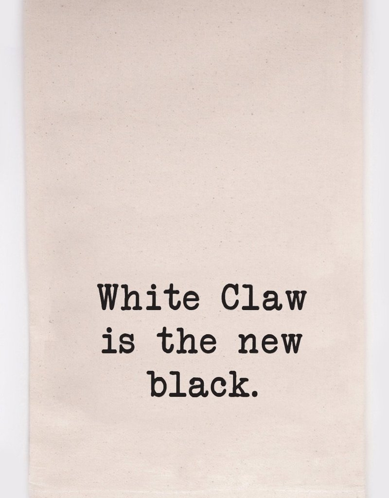 ellembee White Claw Tea Towel