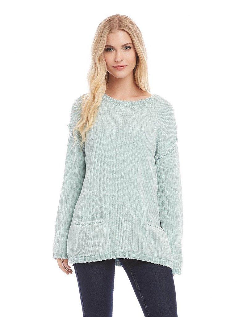 Karen Kane Chenille Pocket Sweater