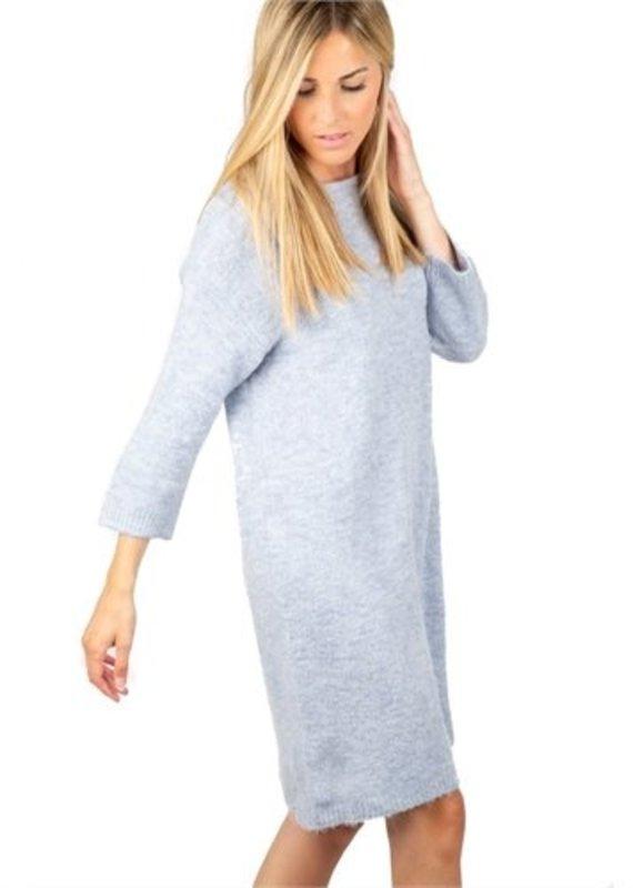 Molly Bracken Boatneck Sweater Dress