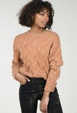 Molly Bracken Criss Cross Pattern Sweater