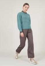 Molly Bracken Mixed Metallic Sweater