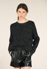 Molly Bracken Two Tone Leopard Sweater