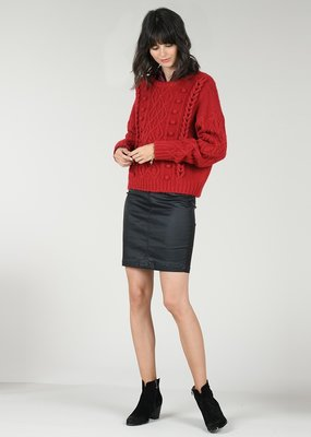 Molly Bracken Pom & Braid Sweater