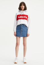 Levi Strauss & Co. Button Front Mini Skirt