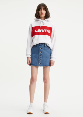 Levi Strauss & Co. Button Front Mini Skirt