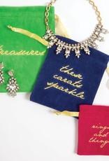 8 Oak Lane Set of 3 Jewelry Pouches