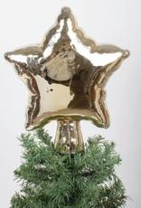 8 Oak Lane Gold Balloon STAR Tree Topper,
