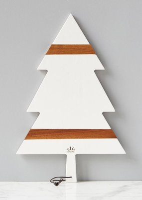 ETU Home White Mod Tree Charcuterie Board Large
