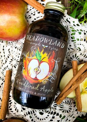 Meadowland Syrup Woodfired Apple Cocktail Syrup