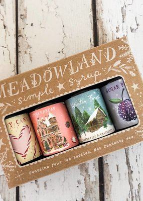 Meadowland Syrup Wonderland Collection: Holiday Simple Cocktail Syrup