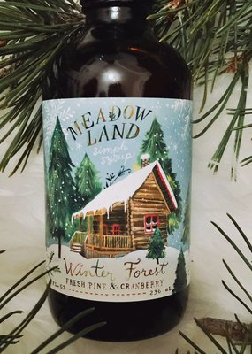 Meadowland Syrup Winter Forrest Cocktail Syrup