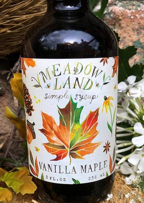 Meadowland Syrup Vanilla Maple Cocktail Syrup
