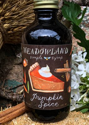 Meadowland Syrup Pumpkin Spice Cocktail Syrup