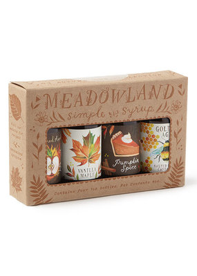 Meadowland Syrup Autumn Sun Collection: Simple Cocktail Syrup