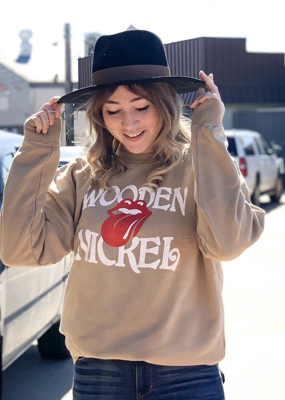 Wooden Nickel Wooden Nickel Vintage Rock Sweatshirt