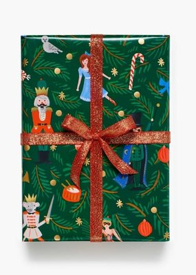 Rifle Paper Nutcracker Continuous Wrapping Roll