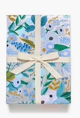 Rifle Paper Garden Party Silver Continuous Wrapping Roll