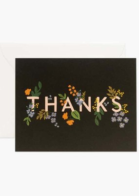 Rifle Paper Posy Thank You Card